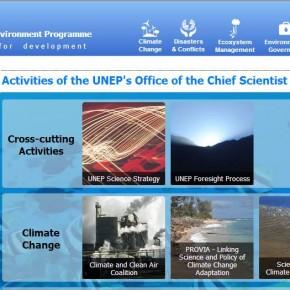 """Lanzamiento sitio """"UNEP's Office of the Chief Scientist"""""""