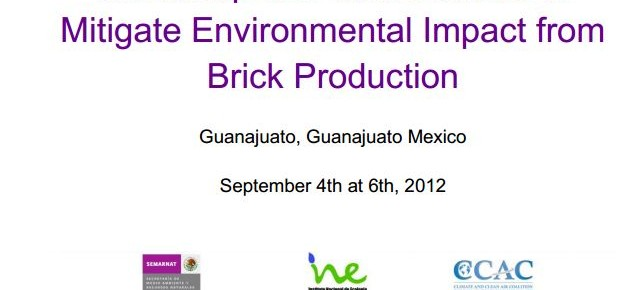 Workshop on Public Policies to Mitigate Environmental Impacts from Brick Production